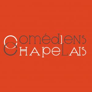 Déclinaison orange du logo des Comédiens Chapelais, réalisation Signé Marion - agence de communication éditoriale et web en Vendée